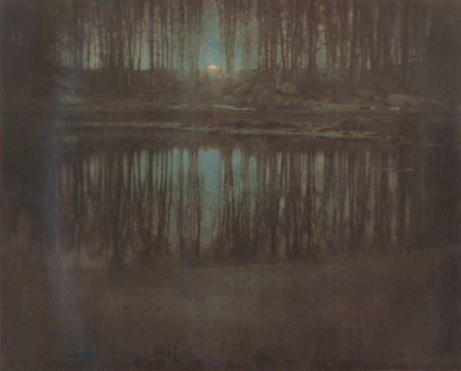 Eward Staichen – The Pond Moonlight (1904)